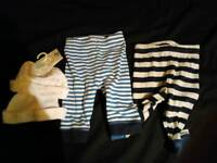 Baby boy up to 1 month clothers