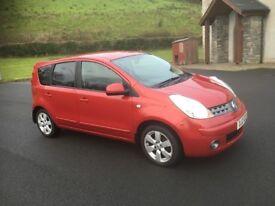 08 Nissan Note 1.4 petrol