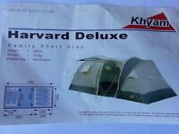 Khyam 5000 Havard Delux 6 man tent for sale