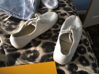 Men's white shoes size 12