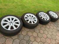 Range Rover 20 inch alloy wheels and tyres