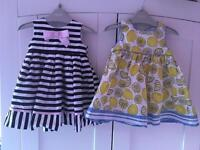 2 x pumpkin patch dresses comes with 2 cardigan and shoes.