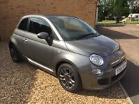 2014 (64) Fiat 500S (1.2) - Grey - 2035 miles only! Private FIXED PRICE sale.