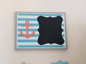 Nautical Chalkboard