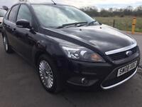 SALE! Bargain Ford Focus titanium, top of the range, low miles, long MOT sat nav