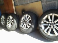 Alloys with tyres 185/60/14