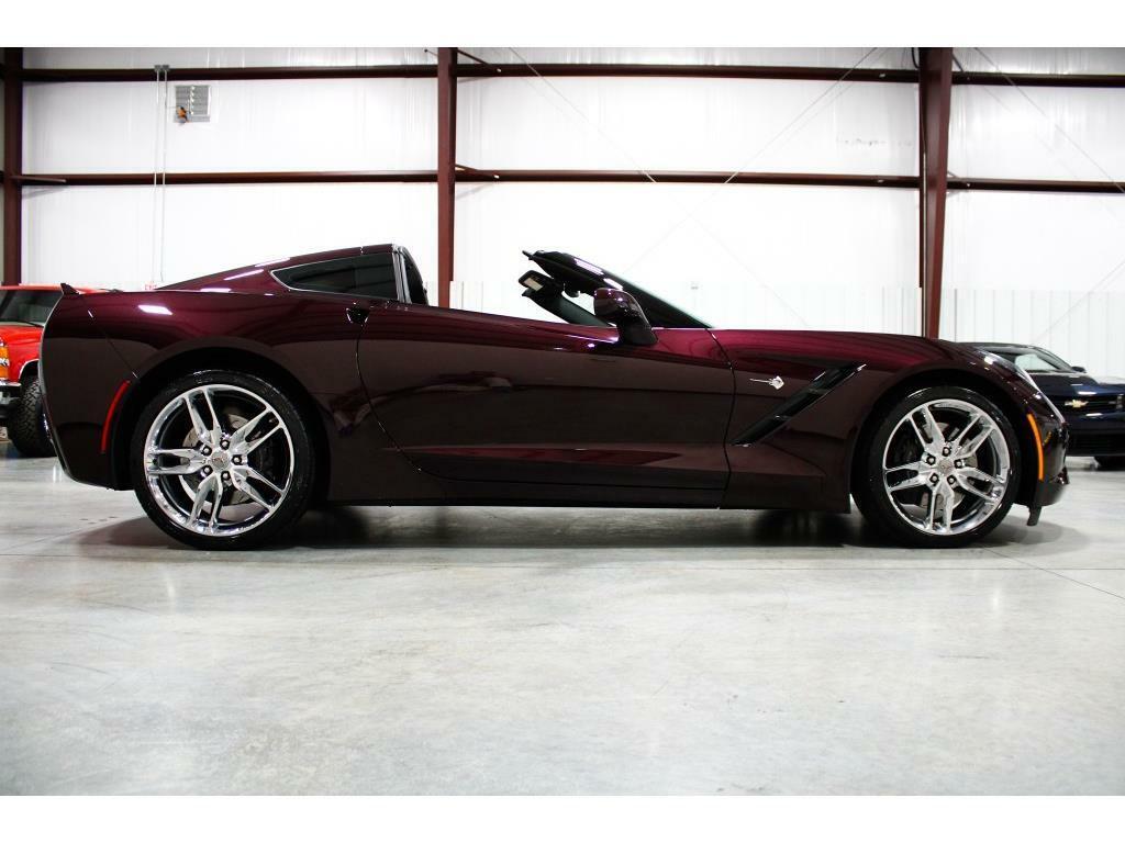 2017 Black Chevrolet Corvette Stingray 2LT   C7 Corvette Photo 6
