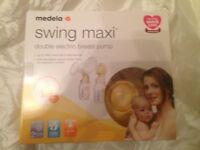 Medela Swing Maxi Double Electric Breastpump with Calma