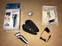 Philips Series 7000 Wet and Dry Electric Shaver with Precision Trimmer (UK 2-Pin Bathroom Plug)