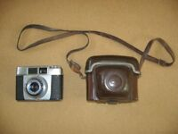 Zeiss ikon Colora camera with case.