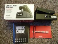 Dunlop Cry Baby Mini Guitar Effects Pedal