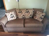 3 seater couch with 2 arm chairs