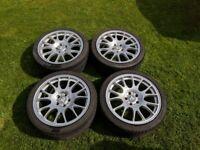 CH Motorsport BBS Replica Alloy wheels fits Vauxhall astra or Zafira VXR