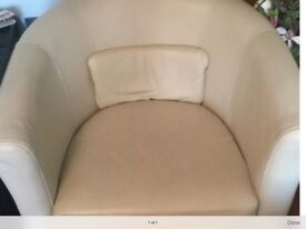 Ikea leather tub chair exc condition pick up rm16
