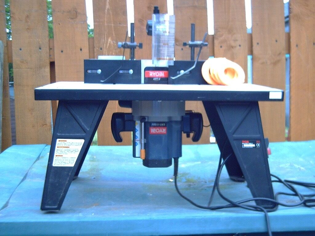 Ryobi router table art2 and ryobi router ert 1150v in aberdeen ryobi router table art2 and ryobi router ert 1150v greentooth Images
