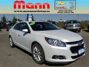 2016 Chevrolet Malibu LTZ | Blind zone alert, Sunroof, Leather,