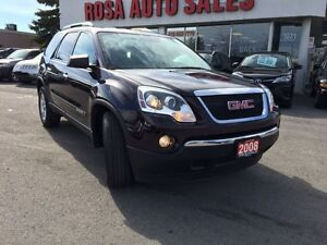 2008 GMC Acadia AWD 4dr SLE 7 PASSENGER DUAL REMOTE START A/C PW