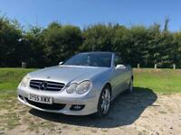 Mercedes-Benz CLK200 | Service history | Low milleage