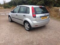 2003 FORD FIESTA 1.4 MANUAL ZETEC 5 DOOR HATCHBACK PETROL 78k, F/S/H