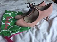 Boden Mary Jane pink shoes