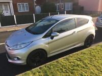 Ford Fiesta Diesel silver new cam belt and service long mot zetec S leather interior