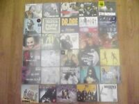 hip hop cd various 30 cds all will be with cases only pick up CHEAP SALE.