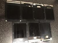7x large format cut film holders 4x5 standard it