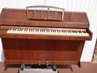 evestaff mini royal very small piano over strung £280 can deliver tuned