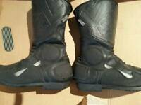 Motorcycle boots ladies