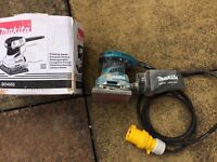 Makita 110v palm sander