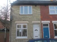 To Let: Three bedroom mid terrace house off Tudor Road, Leicester.