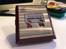 Nintendo Game & Watch Mario bros 1983 very nice example