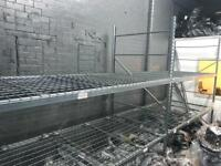 Industrial shelving 2 joint Bay