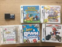 6 games for Nintendo DS consoles.