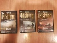 HOOKED ON FISHING. 3 DVDs