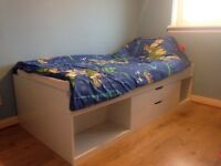 Kids Single Storage Bed
