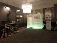 LED inflatable photo booth Photobooth edinburgh