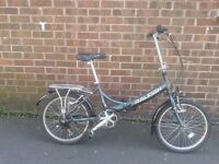 Raleigh EVO7 Air Lite Folding Bike