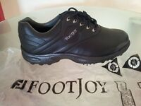 NEW - FOOTJOY MENTS (BLACK) GOLF SHOES
