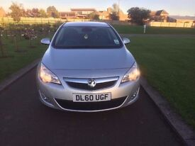 2011 (60) VAUXHALL ASTRA SE 2.0 CDTI FULLY LOADED AUTO LIGHTS/WIPERS 157 SILVER