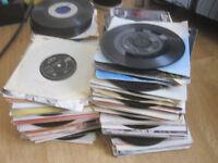 """huge collection of 7"""" 45s vinyl singles records over 1,200! 50s 60s 70s 80s 90s pop rock etc"""