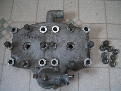 87 Yamaha Exciter 570 Snowmobile Cylinder Head 88 89 90 Vintage