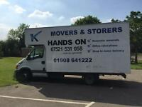 Man and van / removals services