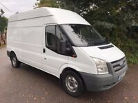 Ford transit t350 115 2.2fwd lwb high roof 2010 10reg 128000 miles