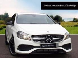 Mercedes-Benz A Class A 200 AMG LINE (white) 2017-11-15