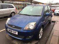 Ford Fiesta 1.2s zetec blue 5dr