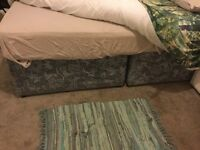 Free duvan double bed and matress
