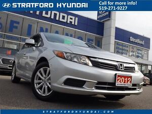 2012 Honda Civic EX | SUNROOF | BLUETOOTH | GAS SAVER! |
