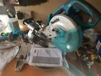 Makita 18v cordless compound mitre saw