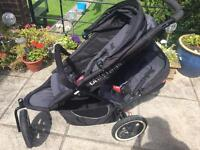 Phil and Teds double buggy classic black